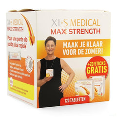 Xls Med. Maximum Strength Tabletten 120 + Sticks 20