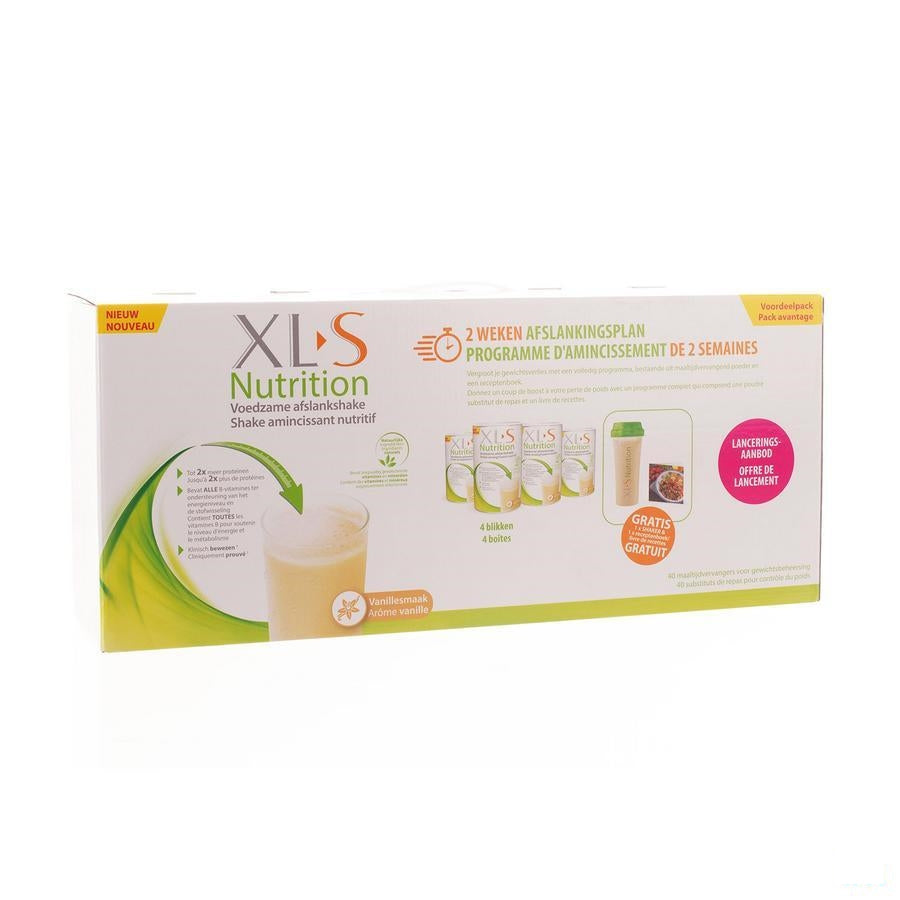 Xls Nutrition 2 Weken Launch Pack 1600g