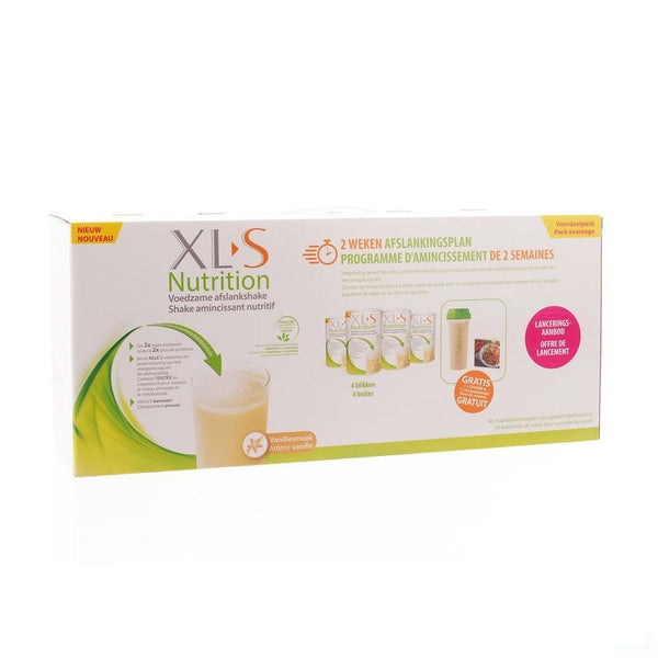 Xls Nutrition 2 Weken Launch Pack 1600g - Omega Pharma - InstaCosmetic