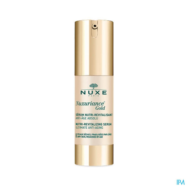 Nuxe Nuxuriance Gold Serum Nutri Revitalis. 30ml - Nuxe Belgium - InstaCosmetic