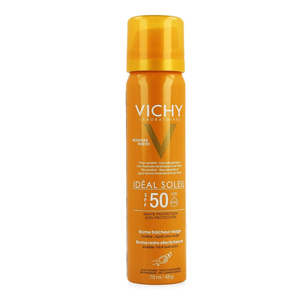 Vichy Ideal Soleil Face Mist Ip50 75ml - Vichy - InstaCosmetic