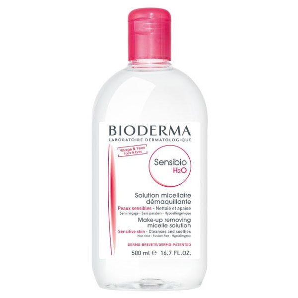 Bioderma Sensibio H2O Micellaire Water Oplossing | 500 ml