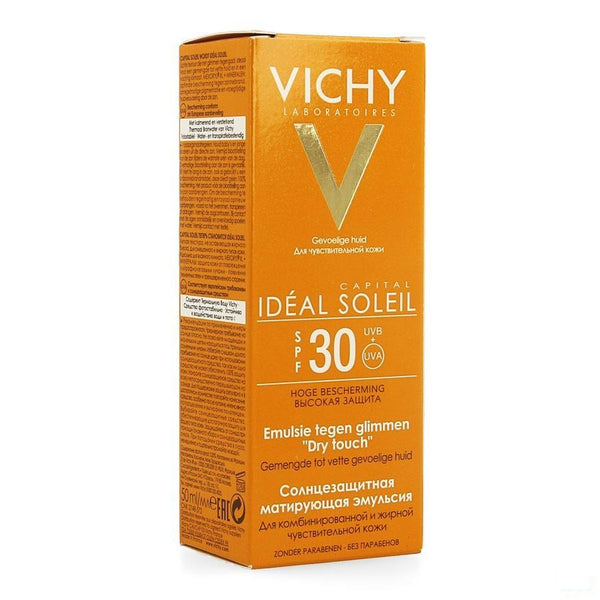 Vichy Capital Soleil Dry Touch SPF 30 - 50 ml - Vichy - InstaCosmetic