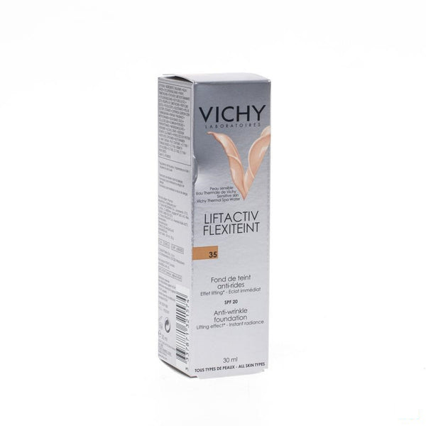 Vichy Flexilift Anti-rimpel Foundation 35 Sand - 30ml - Vichy - InstaCosmetic