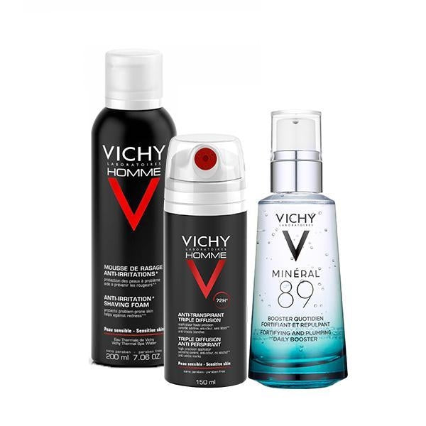 Vichy Men Pack 3 in 1 (Specials)