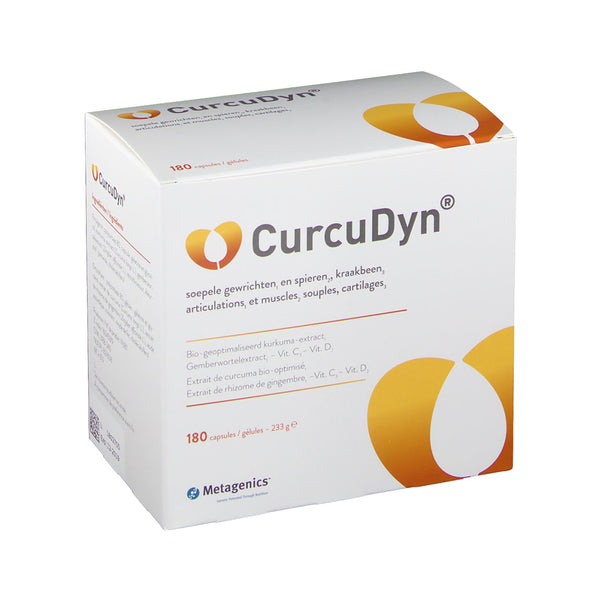 CurcuDyn 180 Capsules - Metagenics - InstaCosmetic