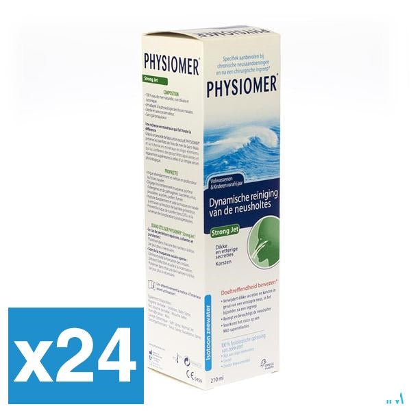 Physiomer Strong Jet 210ml x24 (Voordeelpak)