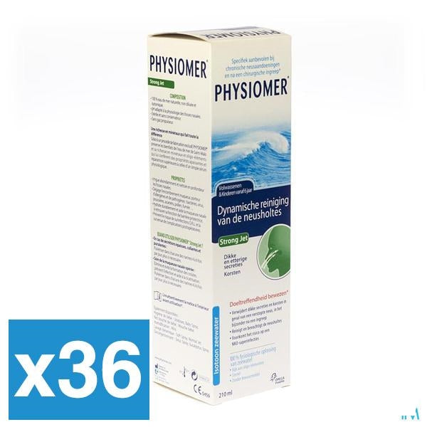 Physiomer Strong Jet 210ml x36 (Voordeelpak)