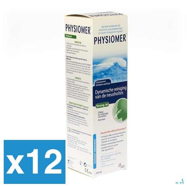 Physiomer Strong Jet 210ml x12 (Voordeelpak)