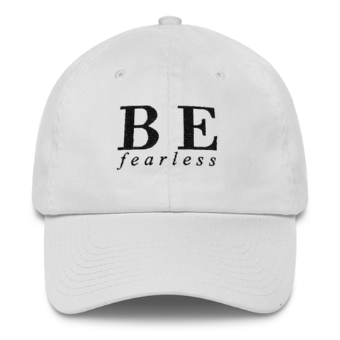 Be Fearless Embroidered Hat