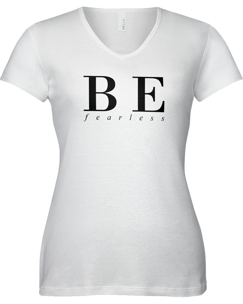 Be Fearless | Sporty V-Neck