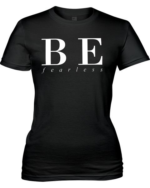 Be Fearless | Jersey Fitted Tee
