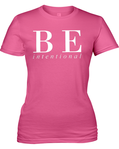 Be Intentional | Ladies Jersey Tee