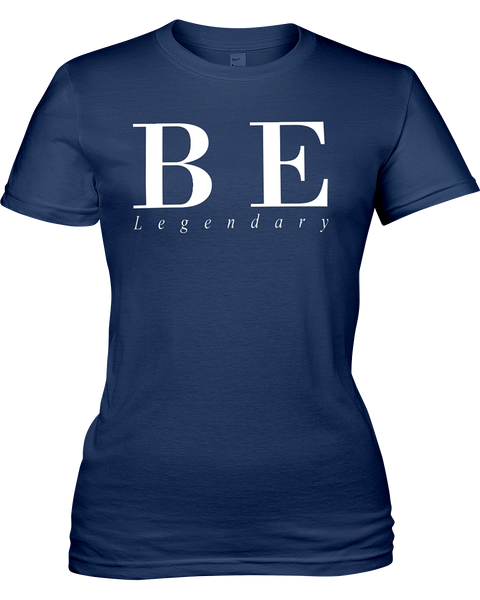 Be Legendary | Jersey Fitted Tee