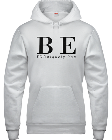Be YOUniquely You Hoodie | White