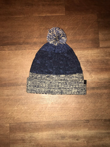 Blend Bobble Hat Blue