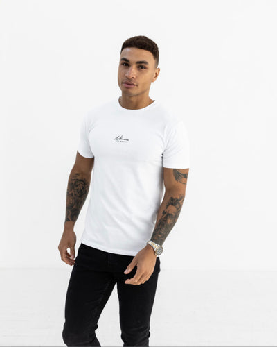 Nimes Essential Slim Fit T-Shirt White