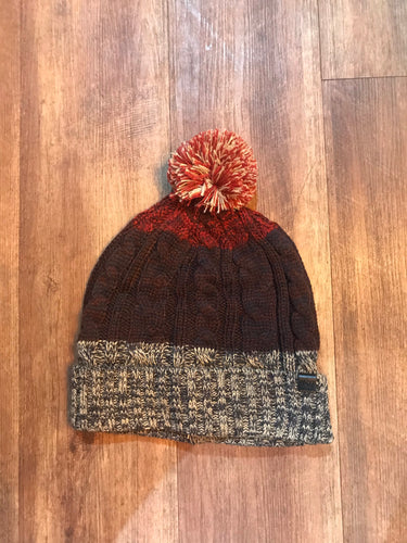 Blend Bobble Hat Red