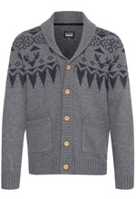 Blend Knitted Cardigan Grey