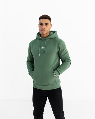 Nimes Essential Overhead Hoodie Washed Green