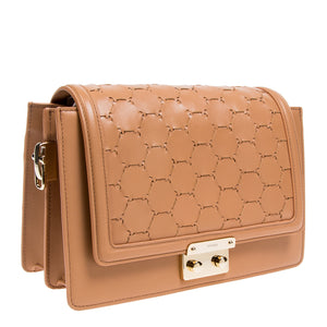 Crossbody Shoulder Bag | Camel