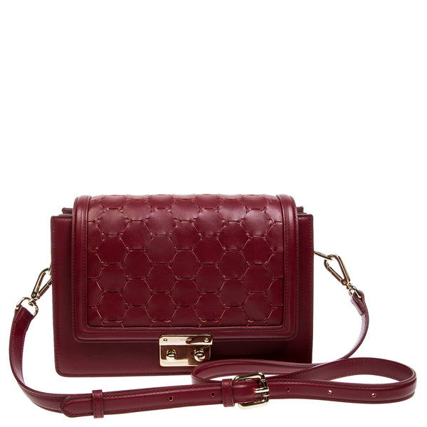 Crossbody Shoulder Bag | Cherry