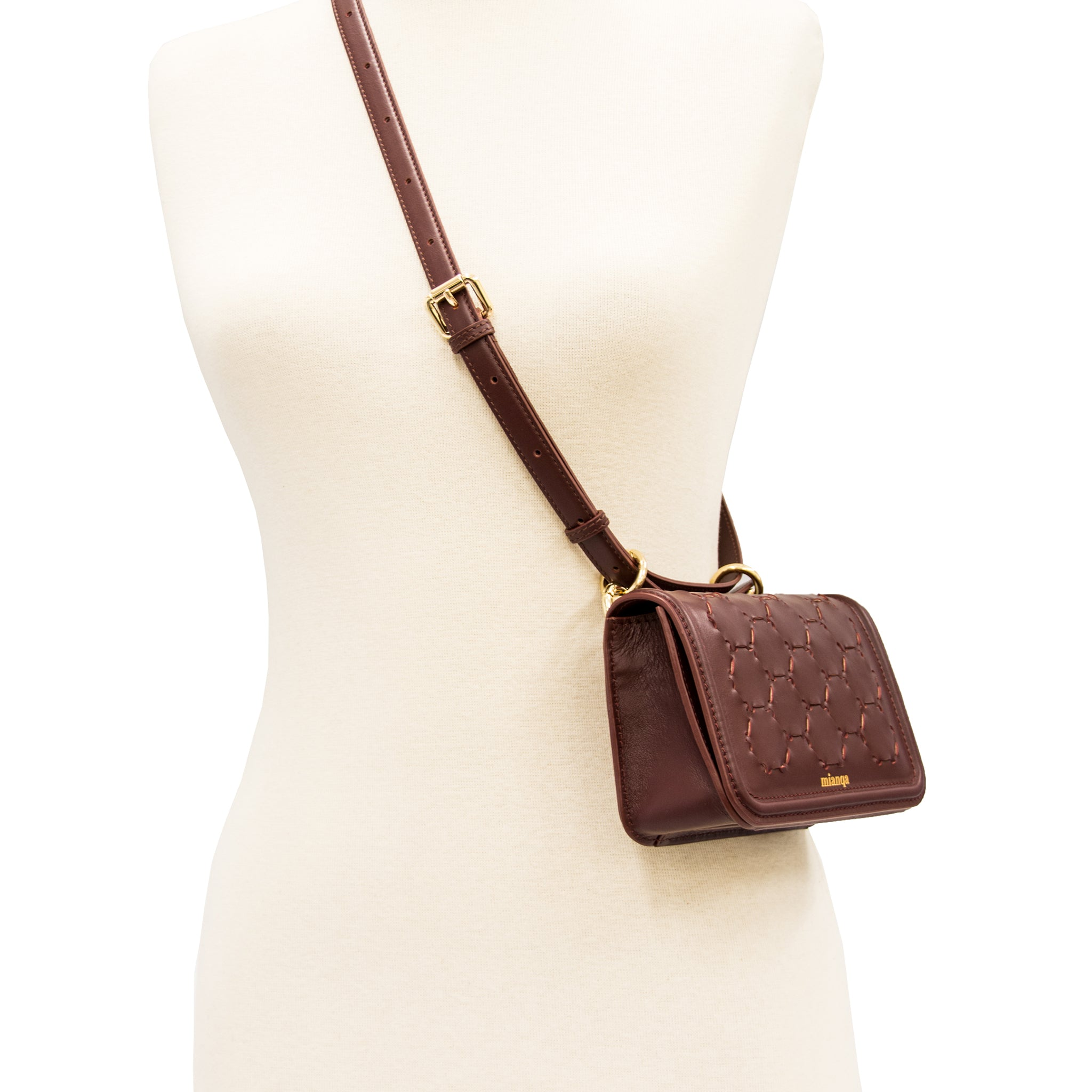 S E M I H A | Belt Bag Bordeaux