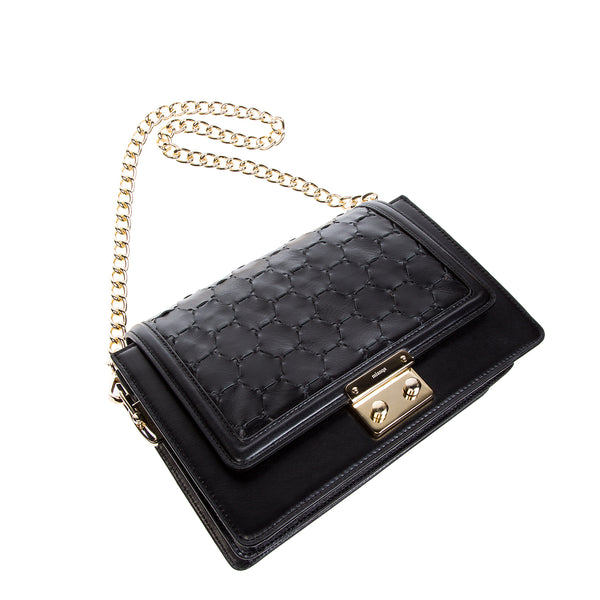 Crossbody Shoulder Bag | Black