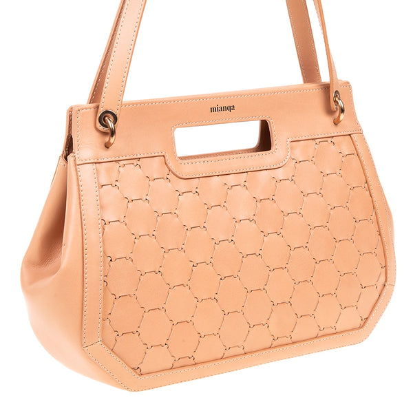 A F I F E | Leather Tote Bag Blush