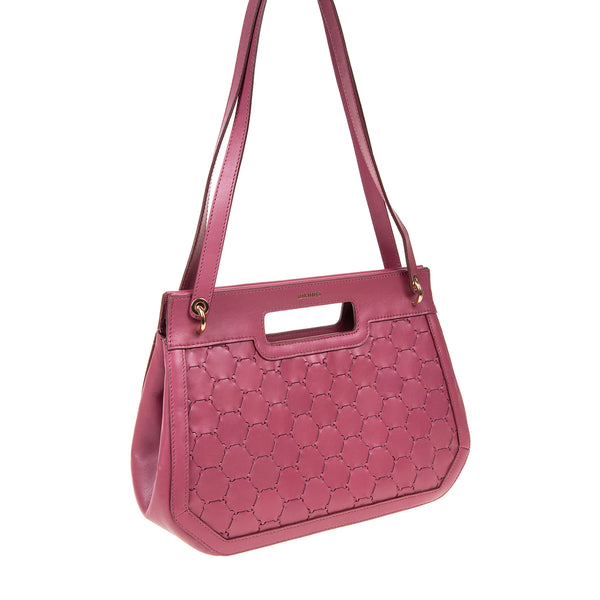 A F I F E | Leather Tote Bag Mauve