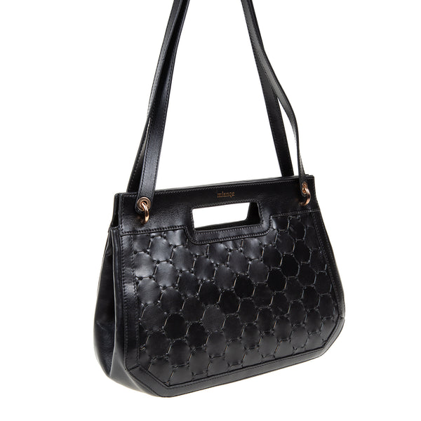 A F I F E | Leather Tote Bag Black