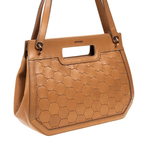 A F I F E | Leather Tote Bag Tan