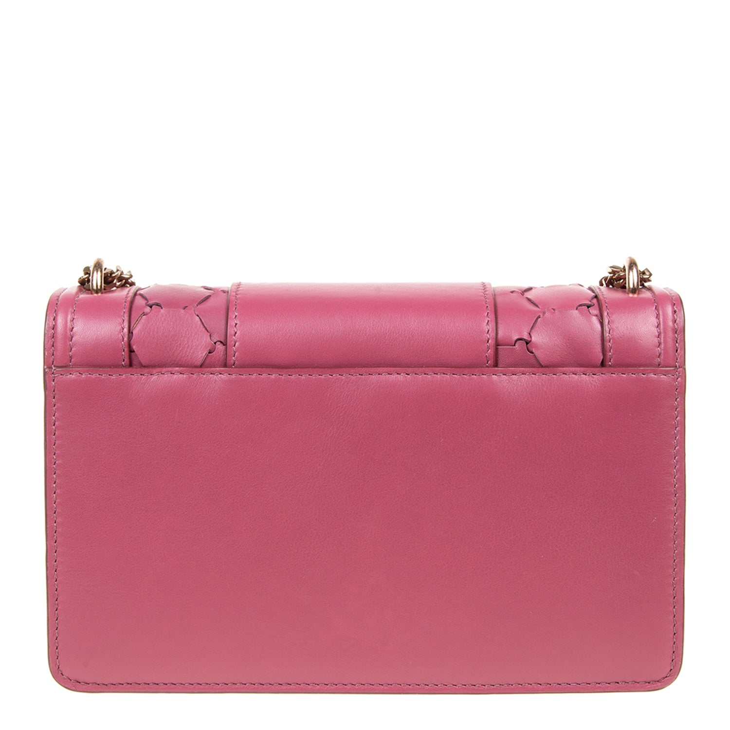 M U A L L A | Leather Shoulder Bag Mauve