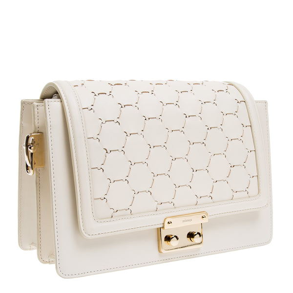 Crossbody Shoulder Bag | White
