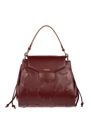 A F E T | Leather Tote Bag Bordeaux