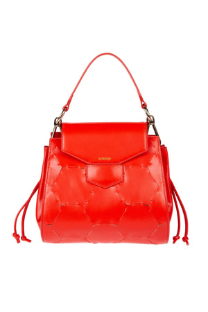 A F E T | Leather Tote Bag Red