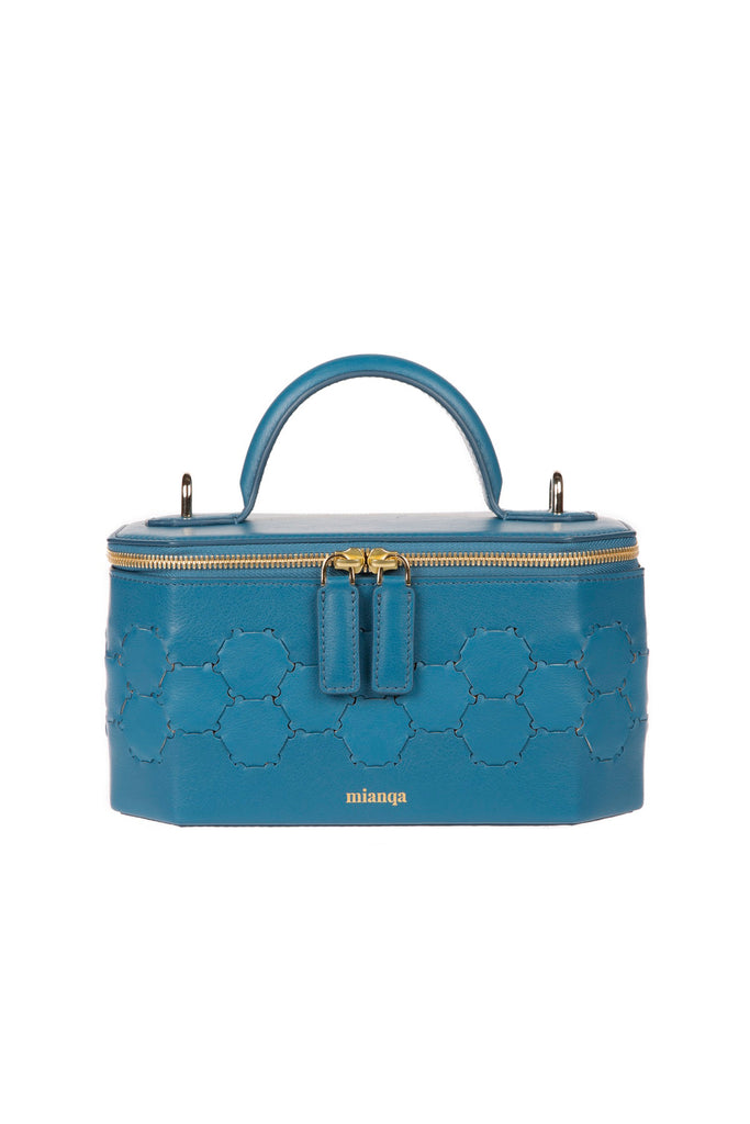 S A F I Y E | Jewellery Bag Blue