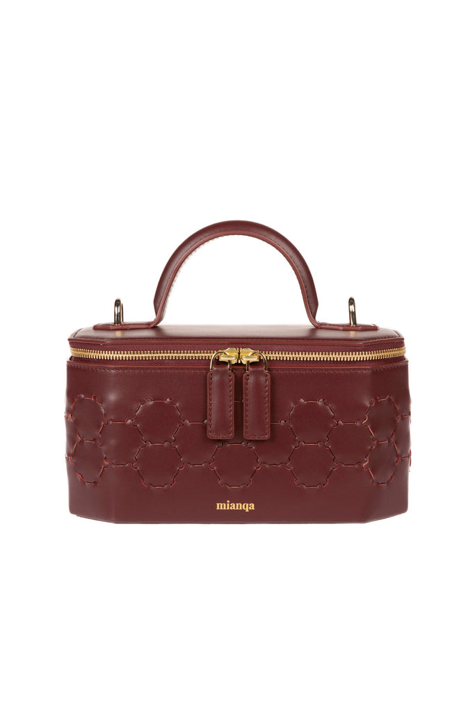 S A F I Y E | Jewellery Bag Bordeaux