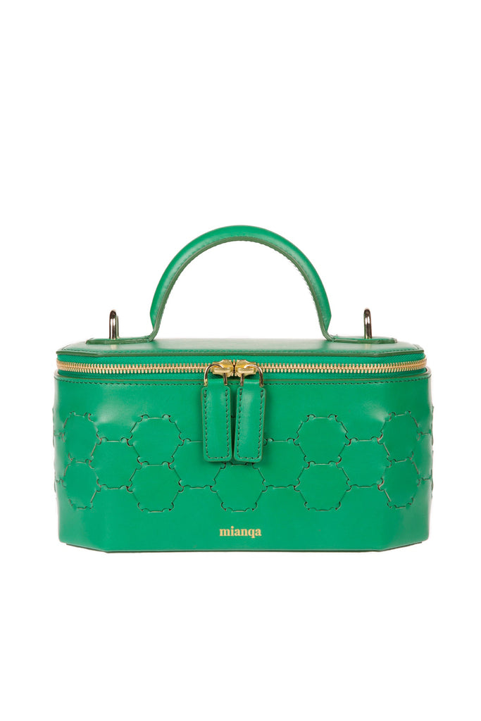 S A F I Y E | Jewellery Bag Green