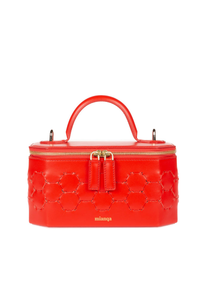 S A F I Y E | Jewellery Bag Red
