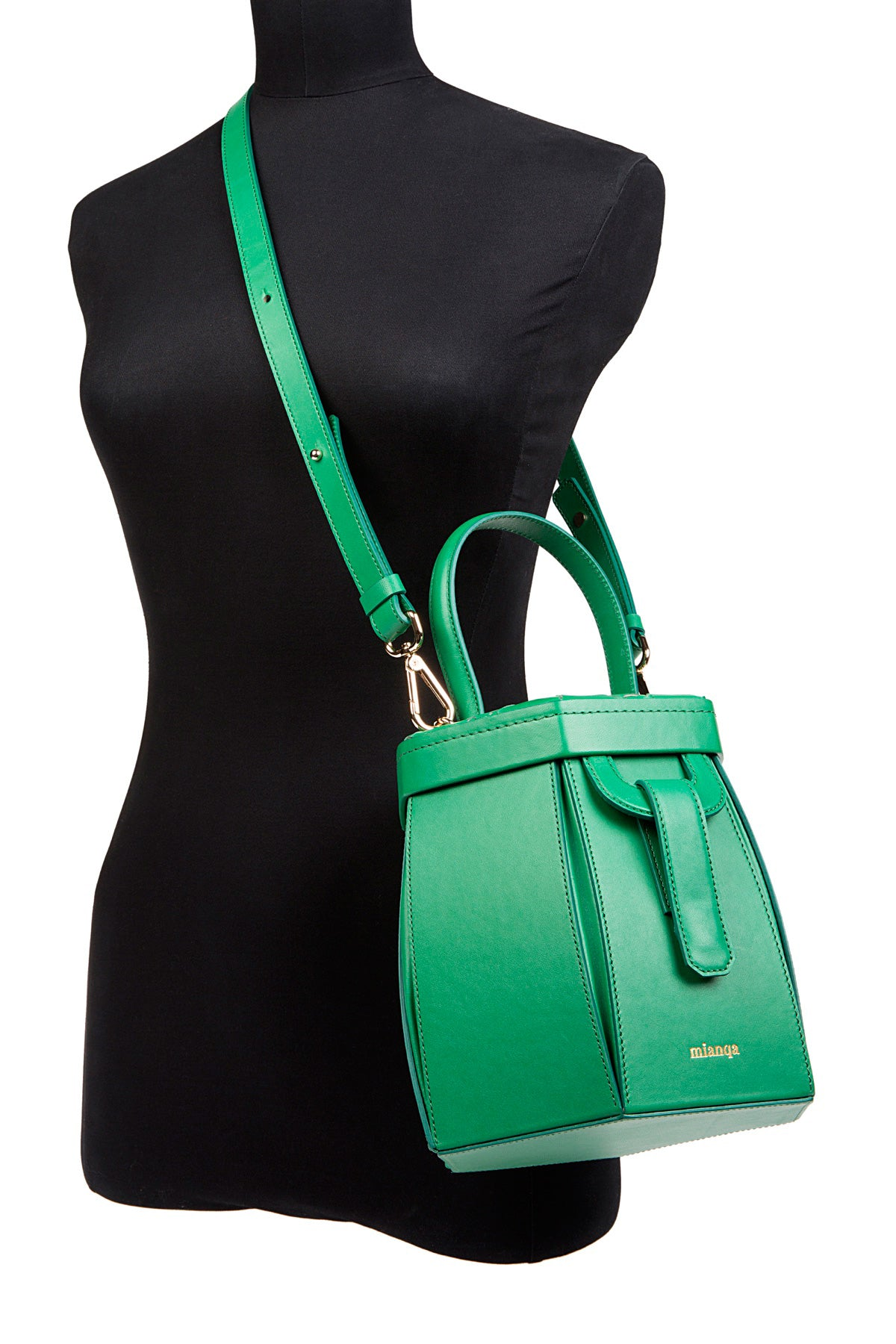 E L I F | Hexagon Bag Green