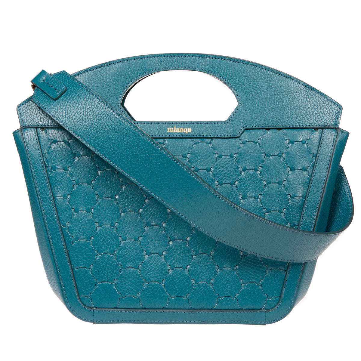 A F I F E | Leather Tote Bag Blue