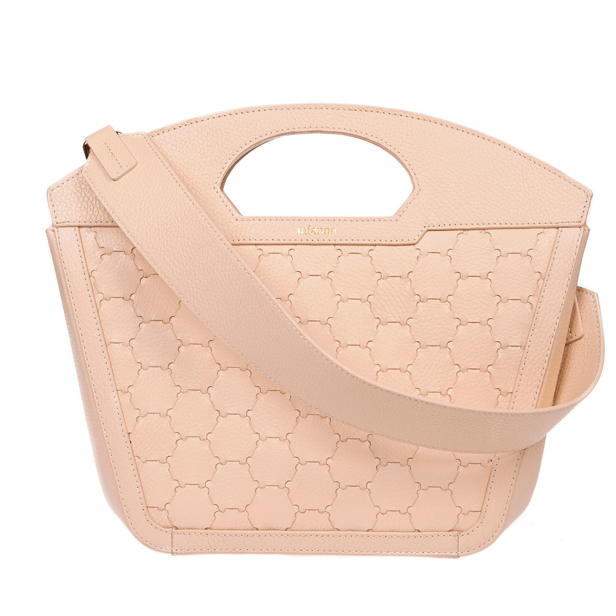 A F I F E | Leather Tote Bag Dust Pink