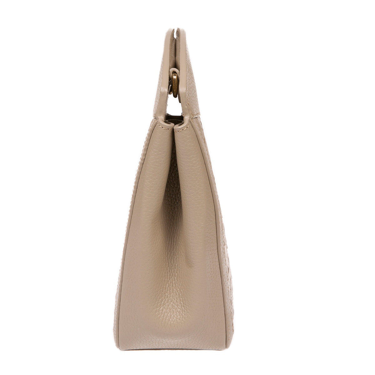 A F I F E | Leather Tote Bag Taupe