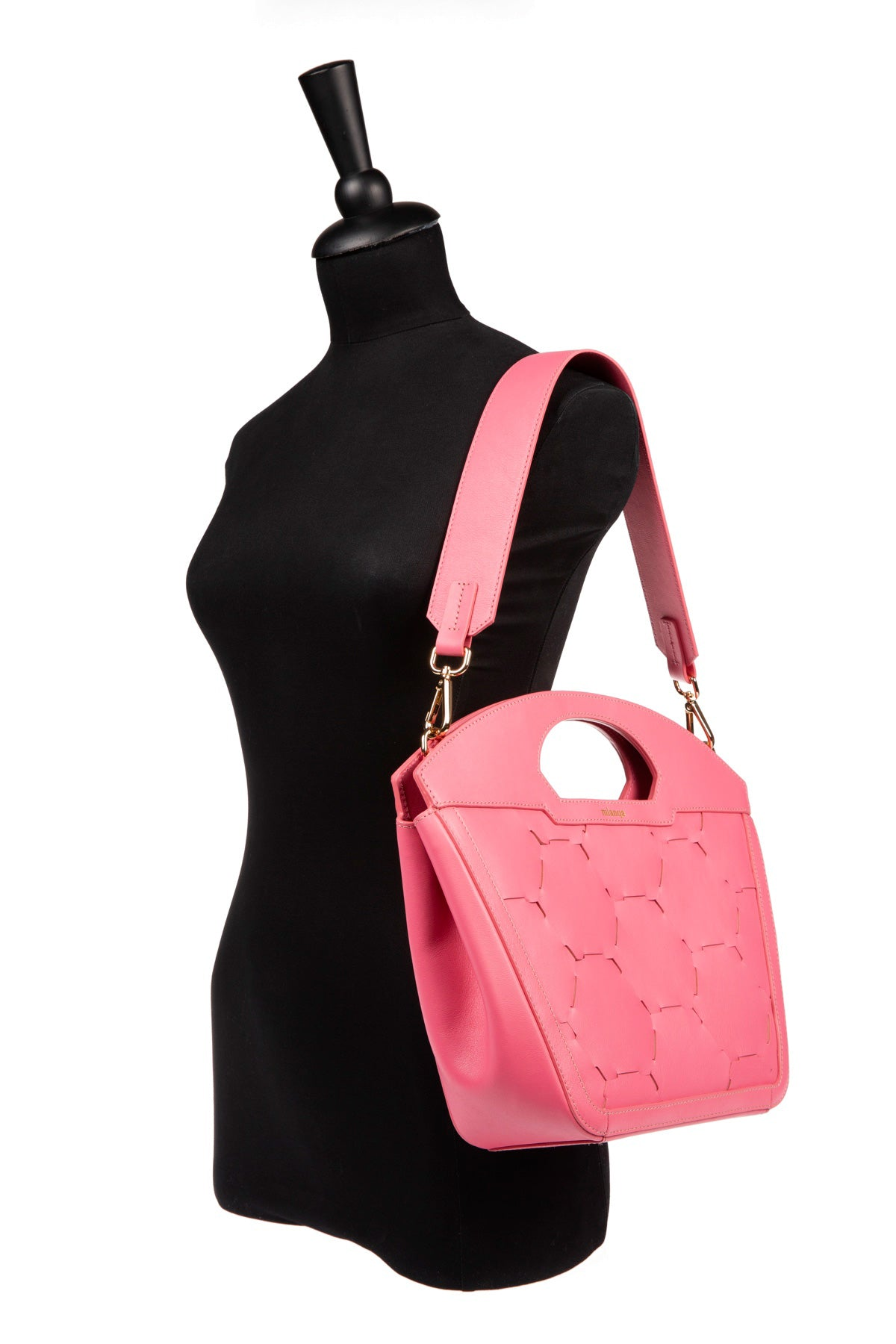 A F I F E | Leather Tote Bag Pink