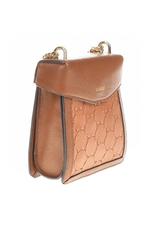 F U R E Y A | Leather Crossbody Bag Tan