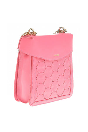 F U R E Y A | Leather Crossbody Bag Pink