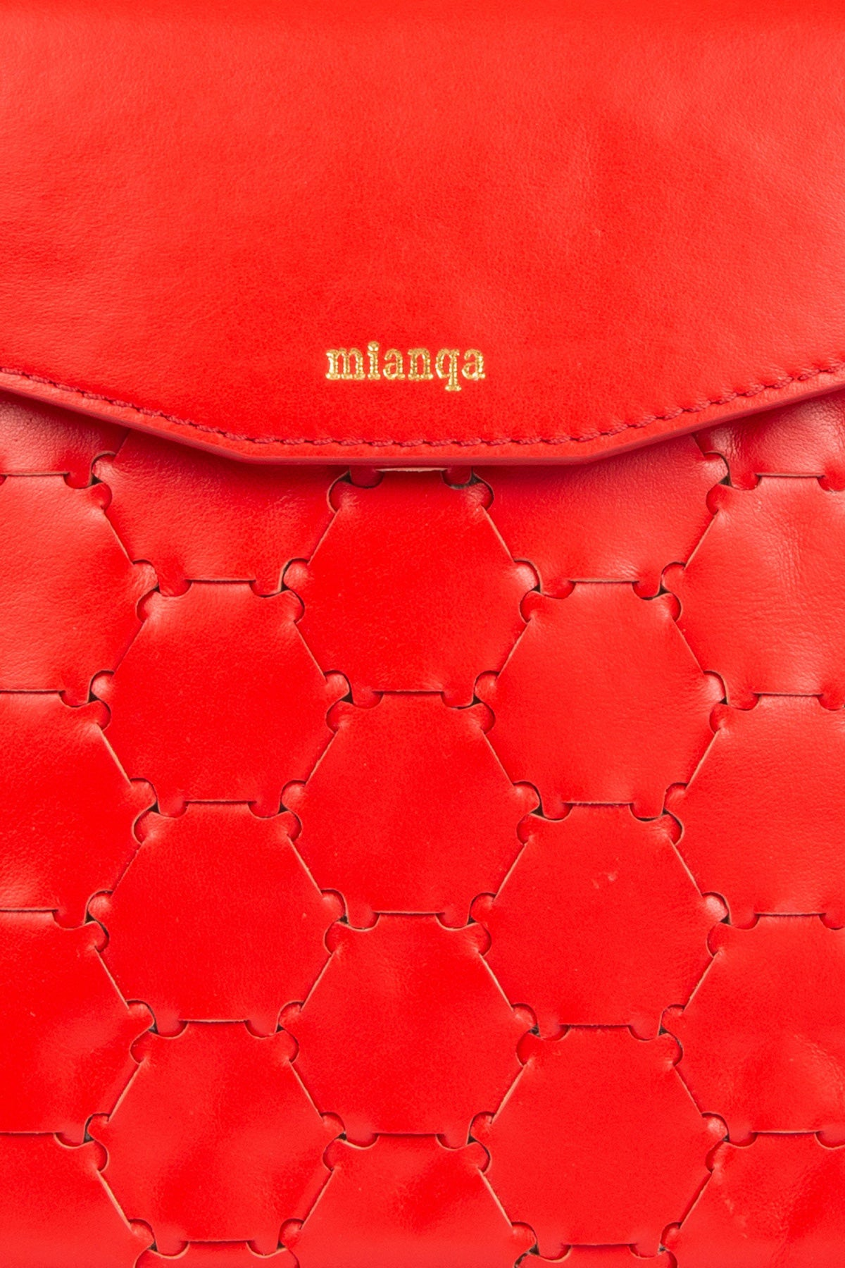 F U R E Y A | Leather Crossbody Bag Red