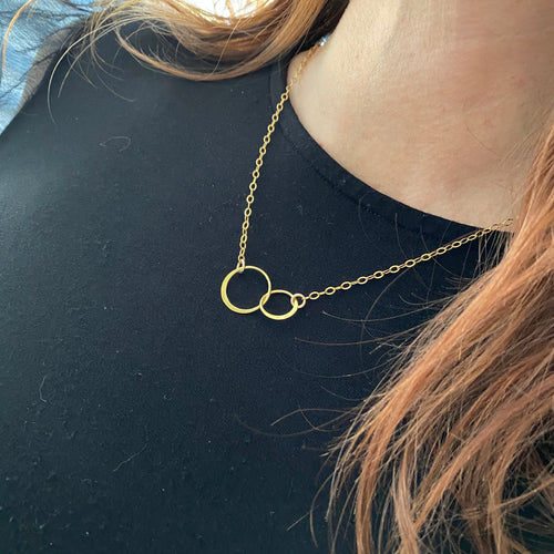 Gold Eternity Necklace