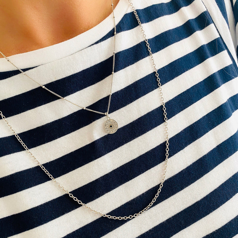 Silver Link Necklace Chain - KookyTwo